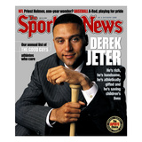 "New York Yankees SS Derek Jeter - July 22, 2002 ""Now batting, No. 2, Derek Jeter—No. 2. Happy now, nutjob?""  - New Yorker Cartoon ""I'll trade you a Jeter and a Bonds for a Hikmat al-Azzawi."" - New Yorker Cartoon ""With the Jeter 2000, you'll never have to say goodbye."" - New Yorker Cartoon President George W. Bush Derek Jeter before the First Pitch in Game 3 of the World Series MLB Superstars 2012 New York Yankees SS Derek Jeter - March 29, 2010 Derek Jeter New York Yankees SS Derek Jeter and New York Mets C Mike Piazza - October 30, 2000 New York Yankees SS Derek Jeter - October 6, 2006 Derek Jeter Bows Out - The New Yorker Cover, September 8, 2014 derek+jeter"