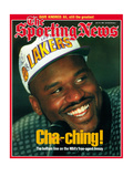 Los Angeles Lakers' Shaquille O'Neal - July 29, 1996 Shaquille O'Neal Los Angeles Lakers' Shaquille O'Neal and Philadelphia 76ers' Dikembe Mutombo - NBA Champions - June Shaquille O' Neal