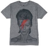 David Bowie- Aladdin Sane The Beatles - Lonely Hearts Seal Pink Floyd - Dark side of the moon Led Zeppelin - Man With Sticks David Bowie - Smoking Slash - Top Hat Womens: David Bowie - Aladdin Sane (dolman)