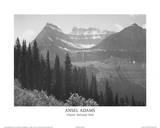 Glacier National Park Pine Forest in Snow, Yosemite National Park, 1932 Oak Tree, Sunset City, California, 1932 Moon and Half Dome, Yosemite National Park, 1960