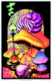 Alice in Wonderland Dreaming Flocked Blacklight Poster Art Print Take Me To Your Dealer College Blacklight Poster Moonlit Pirate Ghost Ship Blacklight Poster Art Print Peace Love and Happiness Magic Valley Mushroom Man Wormhole Blacklight Poster Print Jimi Hendrix - Guitar Solo Yellow Submarine