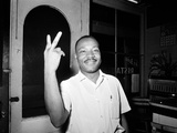 MLK St Augustine Boycott 1964 Thinker (Quintet): Peace, Power, Respect, Dignity, Love