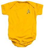 Infant: Star Trek- Command Uniform Star Trek-Enterprise Athletic Juniors: Star Trek-Old School Star Trek - Expendable Star Trek - Final Frontier (Front/Back Print) Star Trek - Vintage Spock Star Trek - Engineering Uniform Infant: Star Trek- Starfleet Cadet Onesie Star Trek-Starfleet's Finest Star Trek - Live Long and Prosper Star Trek-Old School Star Trek-Starfleet Academy Earth