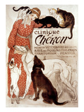 French Veterinary Clinic Cheron - Vintage Style Italian Poster The Good Life Ernest, Doris, Horace And Stripes Downward Facing Dog Pose Or Adho Mukha Shvanasana Meets Upward Facing Cat Tom & Jerry Retro Panels Suspense Clinique Cheron, c.1905 Irises and Sleeping Cat, 1990 Peekapoo (Pekingese X Poodle) Puppy, Ginger Kitten and Sandy Lop Rabbit, Sitting Together Cavapoo (Cavalier King Charles Spaniel X Poodle) Puppy with Rabbit, Guinea Pig and Ginger Kitten Dogs and Cats