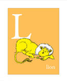 L is for Lion (orange) Oh the Places Youll Go L is for Laugh (green)