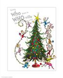 Christmas in Whoville Oh the Places Youll Go L is for Lion (orange) The Cat in the Hat (on blue)