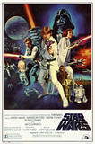 Star Wars - Episode IV New Hope - Classic Movie Poster Star Wars A New Hope Jaws, 1975 Rocky - Movie Score Arms Up