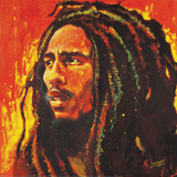 Stephen Fishwick- Bob Marley Bob Marley - Colors Bob Marley - B&W Bob Watercolor