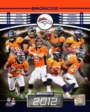 Denver Broncos 2012 Team Composite Von Miller 2015 Action von+miller