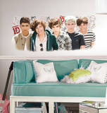 One Direction 1D Peel and Stick Wall Graphix One Direction One Direction One Direction One Direction - Grid