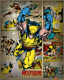 Marvel Comics - Wolverine (Retro) Avengers No.12.1 Cover: Captain America, Hawkeye, Wolverine, Spider-Man, Iron Man, and Others Wolverine No.3 Cover: Wolverine and Logan Flying Uncanny X-Men No.126 Cover: Wolverine, Colossus, Storm, Cyclops, Nightcrawler and X-Men Fighting Wolverine: Origins No.28 Cover: Wolverine Secret Wars No.1 Cover: Captain America Avengers Classics No.1 Cover: Hulk Marvel Comics Retro: The Incredible Hulk Comic Book Cover No.181, with Wolverine (aged) X-Men Forever Alpha No. 1: X-Men No. 1: Beast, Storm, Gambit, Psylocke, Colossus, Rogue, Wolverine
