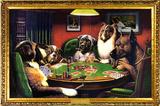 Dogs Playing Poker Seinfeld - Kramer Friends Infographic white elephant