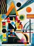 Balancement Merry Structure Delicate Tension (1923) Mit Und Gegen Farbstudie Quadrate, c.1913
