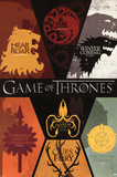 Game of Thrones House Sigils Television Poster Batman Origins - Arkham Bats Batman Origins - Joker Bats Call Of Duty Black Ops 3 Cover Panned Out Game of Thrones Horizontal Map Fallout 4- Nuka Cola Pin Up Minecraft- World The Last of Us video games
