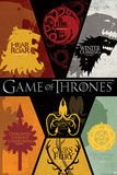 Game of Thrones - Sigils Game Of Thrones- House Stark Tournament Banner