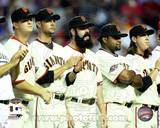 San Francisco Giants - Tim Lincecum, Pablo Sandoval, Matt Cain, Ryan Vogelsong, Brian Wilson Photo The San Francisco Giants Celebrate Winning the 2010 NLCS San Francisco Giants 2010 Natinal League Champions Composite Brandon Crawford, Pablo Sandoval, & Buster Posey celebrate winning Game 3 of the 2014 National Leag Pablo Sandoval Game 4 of the 2014 National League Championship Series Action Pablo Sandoval celebrates winning Game 4 of the 2014 National League Championship Series Hunter Pence & Pablo Sandoval Game 5 of the 2014 World Series Action 2014 MLB World Series Match Up Composite San Francisco Giants vs. Kansas City Royals Pablo Sandoval Double Game 7 of the 2014 World Series Pablo Sandoval Celebrates the final out Game 7 of the 2014 World Series Pablo Sandoval 2014 Action Pablo Sandoval 2014 Action San Francisco Giants 2011 Triple Play Composite San Francisco Giants vs. Detroit Tigers World Series Match-up Composite Pablo Sandoval - San Francisco Giants 2012 World Series MVP