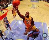 Los Angeles Lakers - Shaquille O'Neal Photo Shaquille O'Neal Orlando Magic' Shaquille O'Neal - May 9, 1994 Los Angeles Lakers' Shaquille O'Neal - November 11, 1996 Shaquille O' Neal