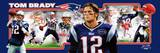 New England Patriots - Tom Brady Panoramic Photo Tom Brady 2001 Divisional Playoff vs. Raiders NFL New England Patriots Parking Sign Malcolm Butler New England Patriots Super Bowl XLIX NFL New England Patriots Flag with Grommets NFL New England Patriots Flag with Grommets NFL New England Patriots Street Sign