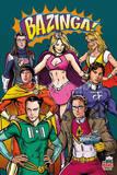 Big Bang Theory Superheroes The Big Bang Theory-Line Up I Love Science (Milky Way) big bang theory