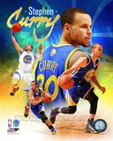 NBA Golden State Warriors Stephen Curry 2014 Portrait Plus Nothing But Splash Keep Calm and Splash On (Blue and Gold) stephen+curry