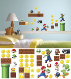 Nintendo - Super Mario Build a Scene Wall Decal Overwatch Characters Centred Game of Thrones Horizontal Map The Last of Us Minecraft- World video games