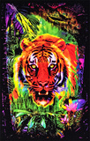 Opticz Jungle Tiger Blacklight Reactive Poster Peace Love and Happiness Sunset Bay Ship Flocked Blacklight Poster Art Print We're All Mad Here Magic Valley Wormhole Blacklight Poster Print Grim Reefer Marijuana Pot Blacklight Poster Print Opticz Treehouse Blacklight Poster Mushroom Man Timberwolves Flocked Blacklight Poster