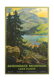 Adirondacks Travel Poster Zion National Park - Zion Canyon View Morning Light at Grand Canyon Wyoming Skier and Tram, Jackson Hole Wenkchemna Peaks Reflected in Moraine Lake, Banff National Park, Alberta, Canada Jackson Lake Redwoods State Park - Pathway in Trees Grand Teton National Park - Moose and Mountains Yosemite Falls - Yosemite National Park, California Half Dome, Yosemite National Park, California Merced River Rafting - Yosemite National Park, California Tetons and The Snake River, Grand Teton National Park, c.1942 Ansel Adams Yellowstone Falls Park Art Print POSTER national parks