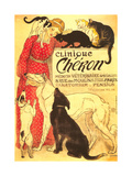 "Clinique Cheron, Vet The Lady and the Unicorn: ""Sight"" Suspense, Poster The Good Life Clinique Cheron, c.1905 Home From Home Clinique Cheron, c.1905 Peekapoo (Pekingese X Poodle) Puppy, Ginger Kitten and Sandy Lop Rabbit, Sitting Together Irises and Sleeping Cat, 1990 Paw Prints Tom & Jerry Retro Panels Cuddles (Sleeping Puppy and Kitten) Art Poster Print Dogs and Cats"