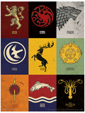 Game of Thrones - Sigils Game Of Thrones - Targaryen Banner Game of Thrones - S4 - Jon Game Of Thrones- Tyrion Game of Thrones - Winter is Coming - House Stark Game Of Thrones- Jon Snow In Winter Game Of Thrones - Stark Banner Game of Thrones - Daenerys Game Of Thrones- Daenerys Quiet In The Storm Game of Thrones Map of Westeros & Essos Huge TV Poster Game of Thrones - You Win or You Die Game of Thrones Horizontal Map Game of Thrones-Map Game Of Thrones - Antique Map Game of Thrones - Sigils Game Of Thrones- House Stark Tournament Banner