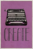 Create Retro Typewriter Player Art Poster Print Achievement Michael Jordan - Success Quote Greatness Be Unique This Is Your Life Be You, Be Different Smile Retro Camera This Is Your Life Motivational Quote Mother Teresa Anyway Poster Gym - Motivational motivational words
