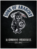 Sons of Anarchy - Cut Sons of Anarchy Vintage Huge TV Poster Sons of Anarchy Sons of Anarchy - Jax Skull Banner Sons of Anarchy- SAMCRO Banner Sons of Anarchy Samcro TV Poster Print Sons of Anarchy - Jax Skull Sons of Anarchy - Bike Circle
