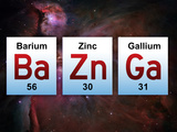 Ba Zn Ga Elements Caught Again - Eric Joyner Poster Big Bang Theory Sheldon Bazinga Television Poster big bang theory
