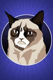 Grumpy Cat Cartoon Grumpy Cat - Moon Grumpy the Cat Grumpy Cat Cartoon Youth: Grumpy Cat Grumpy Cat - I Had Fun Once It Was Awful Grumpy Cat - Shut Up Cats Grumpy Cat- Happy Face Grumpy Cat- Go Away Grumpy Cat - 2018 Calendar Grumpy Cat Mugshot Humor Poster Summer Cats grumpy cat