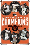 San Francisco Giants - 2014 World Series Champions SF Dynasty San Francisco Giants Logo Sports Poster San Francisco Giants - Champions