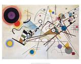 Composition VIII (1923) Mit und Gegen, c.1929 Painting Number 200 Durchgehender Strich Balancement Merry Structure Delicate Tension (1923) Mit Und Gegen Farbstudie Quadrate, c.1913