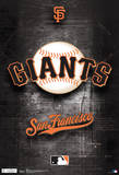 San Francisco Giants Logo Sports Poster San Francisco Giants - Champions