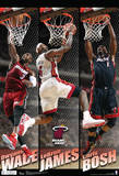 Miami Heat Big 3 Team Nba Sports Poster 2016 NBA Finals- Champions Rollcall Chicago Bulls v Cleveland Cavaliers - Game Five Miami, FL - June 21:  Miami Heat and Oklahoma City Thunder Game Five, LeBron James 2017 NBA Finals - Game Three 2016 NBA Finals - Game Seven Boston Celtics v Miami Heat - Game Five, Miami, FL - MAY 11: LeBron James 2015 NBA Finals - Game One LeBron James Collage Miami Heat NBA Sports Poster Cleveland Cavaliers v Brooklyn Nets Denver Nuggets v Cleveland Cavaliers Cleveland Cavaliers - Lebron James 14 Lebron James- Only Way You Succeed 2016 NBA Finals- Cavaliers Celebration 2016 NBA Finals - Game Two