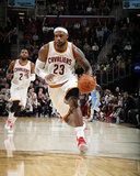 Denver Nuggets v Cleveland Cavaliers Cleveland Cavaliers - Lebron James 14 Lebron James- Only Way You Succeed 2016 NBA Finals- Cavaliers Celebration 2016 NBA Finals - Game Two