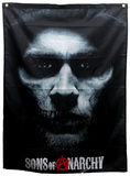 Sons of Anarchy - Jax Skull Banner Sons of Anarchy- SAMCRO Banner Sons of Anarchy Samcro TV Poster Print Sons of Anarchy - Jax Skull Sons of Anarchy - Bike Circle