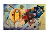 Yellow-Red-Blue, 1925 Painting Number 200 La Forme Rouge, 1938 Circles in Circle Durchgehender Strich Mit und Gegen, c.1929 Balancement Merry Structure Delicate Tension (1923) Mit Und Gegen Farbstudie Quadrate, c.1913