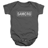 Infant: Sons Of Anarchy - Samcro Sons Of Anarchy - Samcro (slim fit) Sons of Anarchy - Logo Sons Of Anarchy - Acronym Anarchy Skull 3 SOA Skull Anarchy Skull 3 Soa Skull Sons of Anarchy - SAMCRO Sons of Anarchy - Logo Anarchy Skull Sons of Anarchy- SAMCRO Banner Sons of Anarchy - Jax Skull Banner Sons of Anarchy