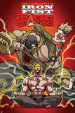 Iron Fist: The Living Weapon No. 3: Iron Fist, Rand, Danny, Kung, Lei The Immortal Iron Fist No.12 Cover: Iron Fist Swinging