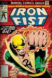 Marvel Comics Retro Style Guide: Iron Fist The Immortal Iron Fist No.17 Cover: Iron Fist The Immortal Iron Fist No.12 Cover: Iron Fist Swinging