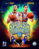 Stephen Curry & Klay Thompson Splash Brothers Portrait Plus Stephen Curry & Kevin Durant 2016 Portrait Plus NBA Golden State Warriors Stephen Curry 2014 Portrait Plus Nothing But Splash Keep Calm and Splash On (Blue and Gold) stephen+curry