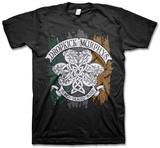 Dropkick Murphys - Knotwork Flag Tee Dropkick Murphys- Vintage Skeleton Piper