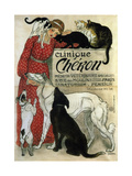 Clinique Chéron, 1905 If My Dog Doesn't Like You, I Don't Like You  - Funny Poster Move Quietly, C.1962 1939 Be Kind to Animals, American Civics Poster, the Cat They Left Behind Clinique Cheron, c.1905 Suspense Clinique Cheron, Vet Sleeping Cat and Chinese Bridge Irises and Sleeping Cat, 1990 The Good Life Tom & Jerry Retro Panels Clinique Cheron, c.1905 Cheron - Vintage Style Italian Poster Peekapoo (Pekingese X Poodle) Puppy, Ginger Kitten and Sandy Lop Rabbit, Sitting Together Cavapoo (Cavalier King Charles Spaniel X Poodle) Puppy with Rabbit, Guinea Pig and Ginger Kitten Dogs and Cats