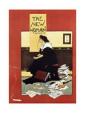 The New Woman, 1895 New Yorker Cartoon Women's Suffrage, 1920 Satire of Feminism Showing an Extreme Role Reversal in a 1900's American Home Mary Wollstonecraft, 18th Century Anglo-Irish Writer and Feminist Votes For Women, 1911 Grow a Pair The Future Is Female - Pink Women's March We Can Do It Women's Rights Gloria Steinem, Feminist and a Leader of the 1970's Woman's Movement, 1972 feminism