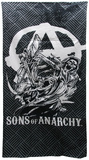 Sons of Anarchy - Reaper Beach Towel Charming Sons of Anarchy - Logo Sons of Anarchy - SAMCRO Sleeveless Tee Sons of Anarchy Reaper Crew TV Poster Print Sons of Anarchy SOA Skull Sons of Anarchy Jackson TV Poster Print Sons of Anarchy - Cut Sons of Anarchy Vintage Huge TV Poster Sons of Anarchy Sons of Anarchy - Jax Skull Banner Sons of Anarchy- SAMCRO Banner Sons of Anarchy Samcro TV Poster Print Sons of Anarchy - Jax Skull Sons of Anarchy - Bike Circle