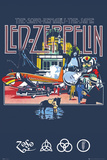 Led Zeppelin Remains ASAP Rocky Music Poster band posters