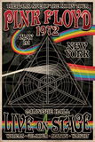 Pink Floyd 1972 Carnegie Hall band posters